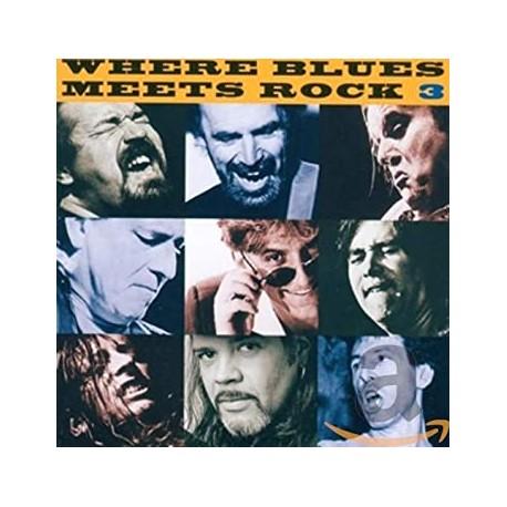 Where Blues Meets Rock vol 3 Cd