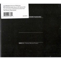 Joy Division / Cd Unknown pleasures Cd deluxe