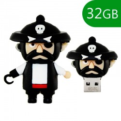 Pen Drive 32 gigas Pirata